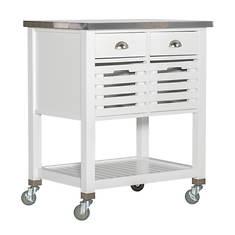 Linon Rollins Kitchen Cart