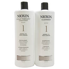 Nioxin System 1 Cleanser & Scalp Therapy Conditioner Duo