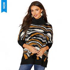 Boxy Mixed Media Sweater