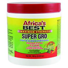 Africa's Best Maximum Strength Super Gro Hair & Scalp Conditioner