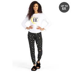 Graphic Print Pajama Set