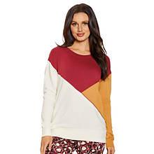 Colorblock Fleece Pullover