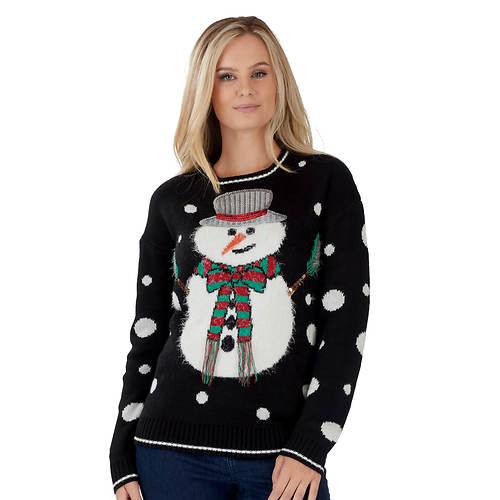 Women's Snowman Ugly Christmas Sweater