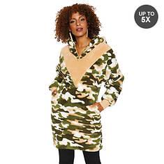 Sherpa Lounge Dress