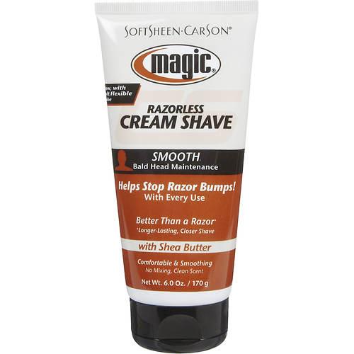 SoftSheen-Carson Magic Razorless Cream Shave for Bald Head