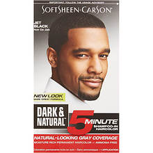 SoftSheen-Carson Dark & Natural 5 Minute Shampoo-In Permanent Hair Color Kit for Men