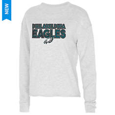 NFL Women's Crossfield French Terry Long-Sleeved Crew Neck