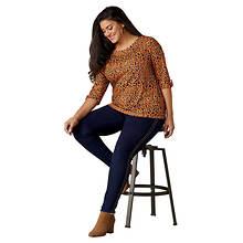 High-Rise Studded Skinny Jean