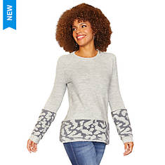 Textured Border Sweater