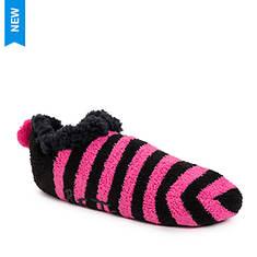 Betsey Johnson Women's Infused Cabin Footie Sock 2-Pair Pack