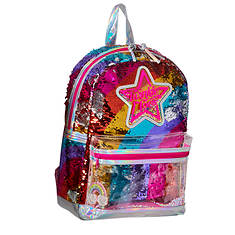 Twinkle Toes Confetti Rainbow Backpack