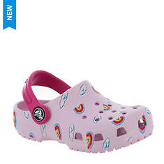 Crocs™ Classic Toddler Printed Clog (Girls' Infant-Toddler)