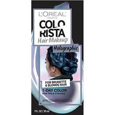 L'Oreal Paris Colorista Hair Makeup Temporary 1-Day Hair Color Spray