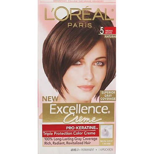 L'Oreal Paris Excellence Creme Permanent Triple Protection Hair Color