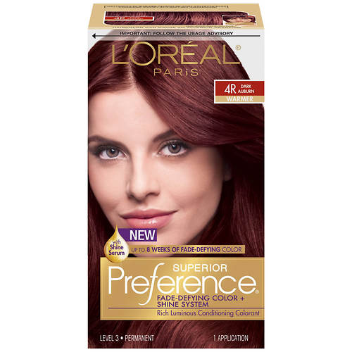 L'Oreal Paris Superior Preference Fade-Defying Shine Permanent Hair Color Kit