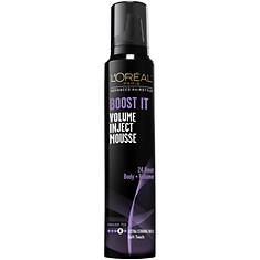 L'Oreal Paris Advanced Hairstyle BOOST IT Volume Inject Mousse