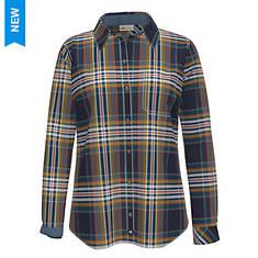 Dickies Women's Long Sleeve Flannel Shirt