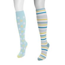 MUK LUKS 2-Pair Compression Sock Pack