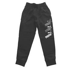PUMA Boys' Amplified Pack Essential Joggers