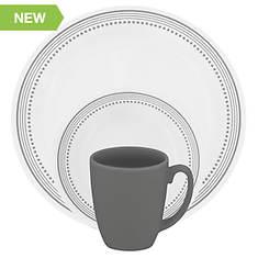 Corelle Mystic Grey 16-pc. Dinnerware Set