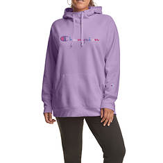 Champion® Women's Plus Powerblend Graphic Hoodie WC