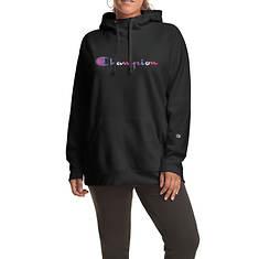 Champion® Women's Plus Powerblend Graphic Hoodie WC