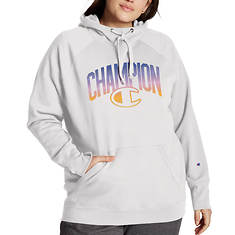 Champion® Women's Plus Powerblend Applique Hoodie