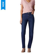 Lee Jeans Women's Instantly Slims Relaxed Fit Straight Leg Jean