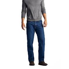 Lee Jeans Men's Relaxed Fit Fleece Lined Straight Leg Jean
