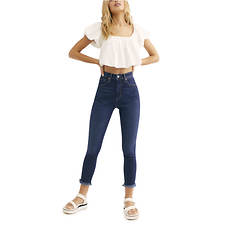 Free People Women's Raw High Rise Jegging