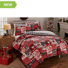 Holiday Patch Comforter Set