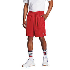 Champion® Men's Long Mesh Shorts With Pockets