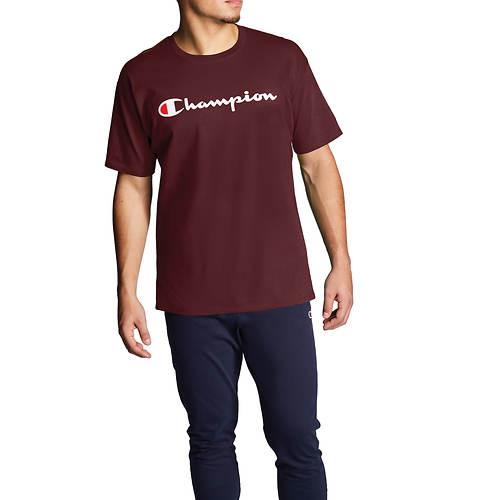 Champion® Men's Classic Script Logo Jersey Tee