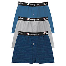 Champion® Men's Everyday Comfort Boxer 3-Pack