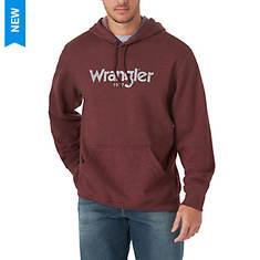Wrangler Men's LS Brush Back Fleece Hoodie
