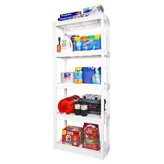 Plano 5-Shelf Shelving Unit