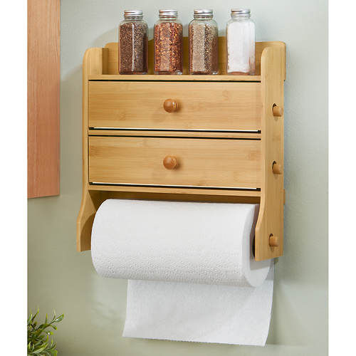 Paper Towel Holder with Dispenser