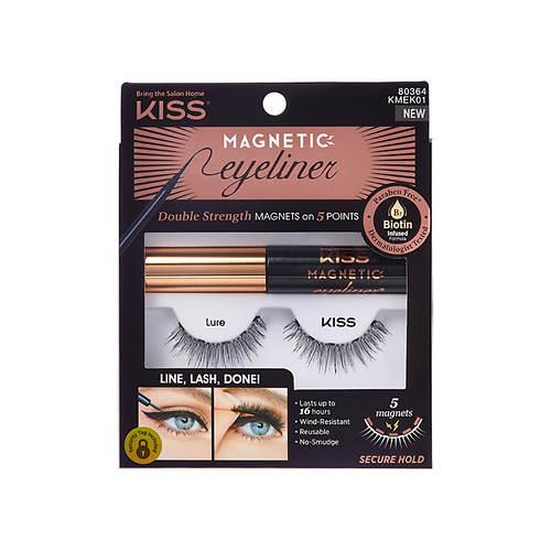 KISS Magnetic Eyeliner & Lash Kit, Lure
