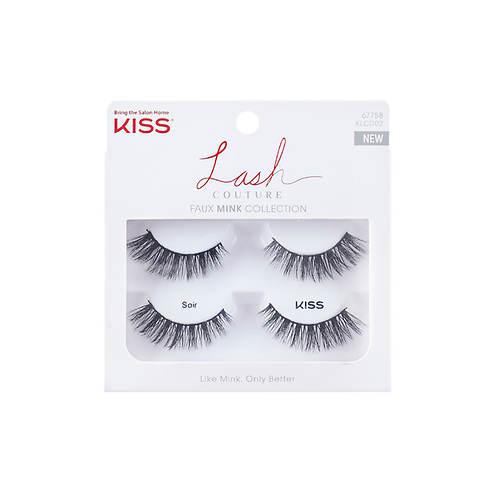 KISS Lash Couture Faux Mink Soir Double Pack
