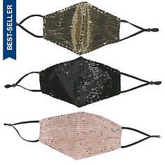 Sequin Masks 3-pc set