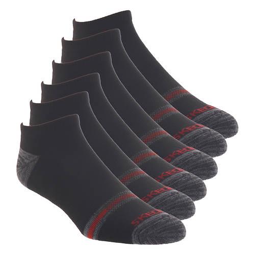 Skechers Men's S115329 Low Cut 6 Pack Socks