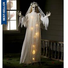 """65"""" Standing Lighted Bride Door Greeter"""