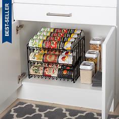 3-tier Stackable Can Rack Organizer