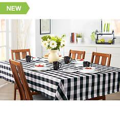 "52""x70"" Farm Check Tablecloth"