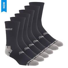 PUMA Men's P116382 Crew 6 Pack Socks
