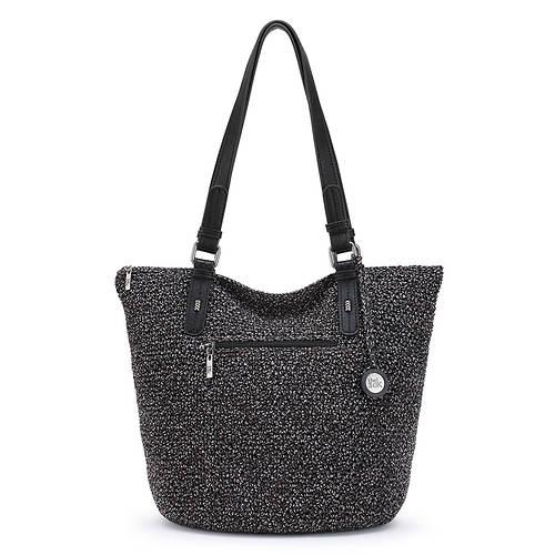 The Sak Silverwood Crochet Shopper Bag