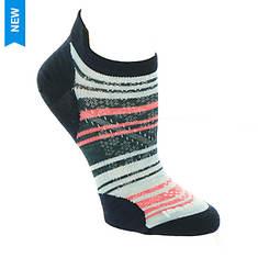 Smartwool Women's Perf Run Zero Cushion Striped Low Ankle Socks