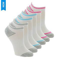 Skechers Women's S115335 Low Cut 6 Pack Socks
