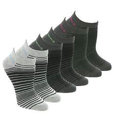 Skechers Women's S108236 Low Cut 6 Pack Socks