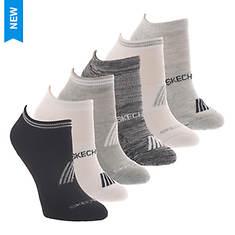 Skechers Women's S116863 Low Cut 6 Pack Socks